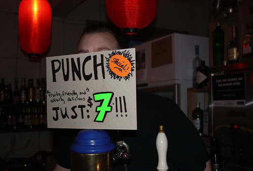 punch sign