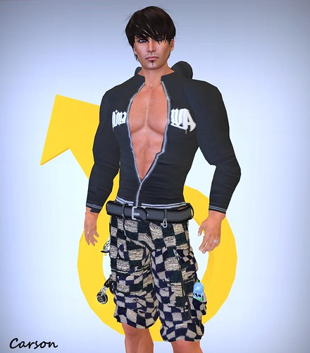 AoD Designz - Furious Baggy Checked Shorts and Sweater Hoodie