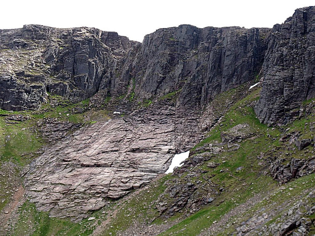 The Great Slab, Cairn Lochan