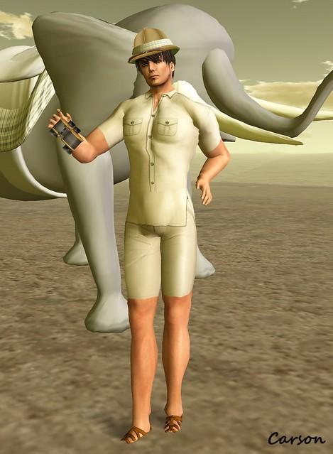 Evaki - Safari Time Shorts