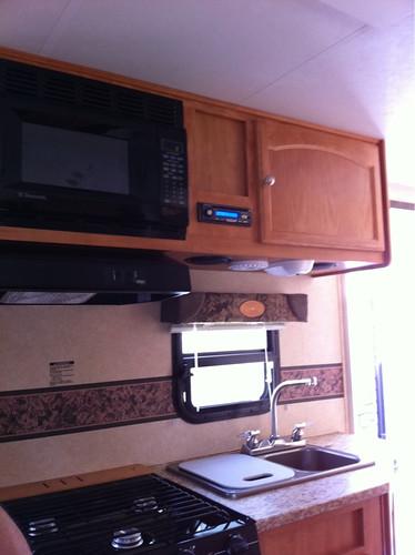 Trailer kitchen
