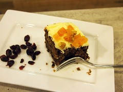 Carrot Cake, Smitten Coffee and Tea Bar