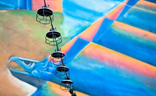 Lamp Line to Aztec Art