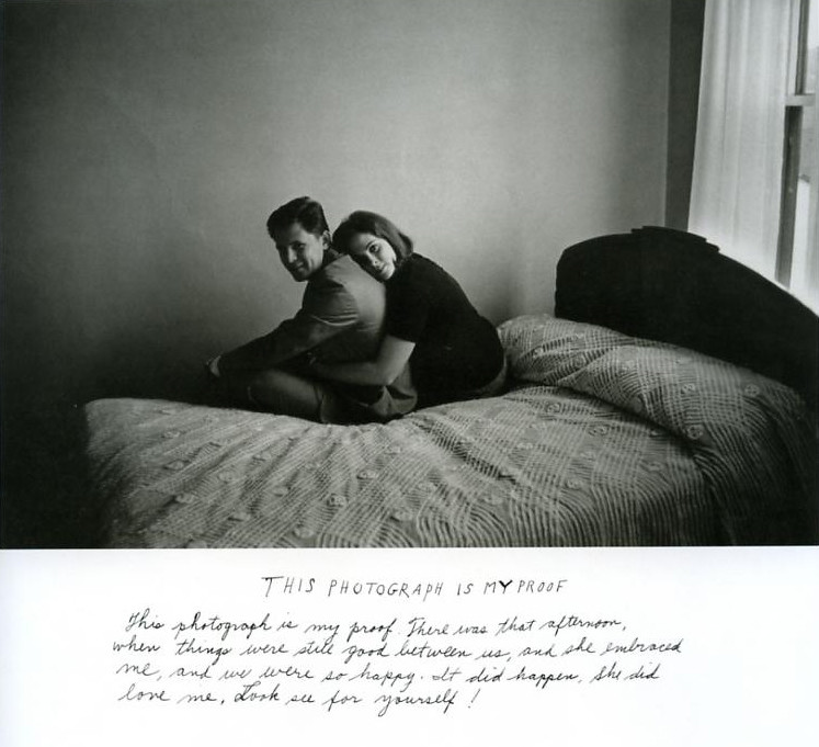 this is my proof, Duane Michals