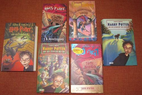 non-English Harry Potter books