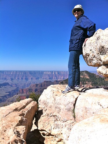 Candace on the North Rim