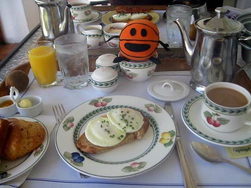 breakfast at rosedon hotel