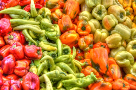 Peppers - Happy Quail Farms - Menlo Park Farmers Market