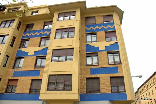 Edificios de viviendas en la calle Teobaldos
