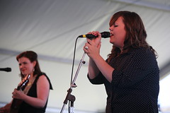 The Secret Sisters at Newport 2011