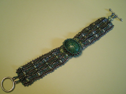 Book of the Dead Scarab Bracelet