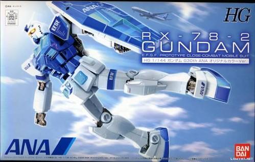 HG RX-78 {ANA # Metallic Blue} (2)