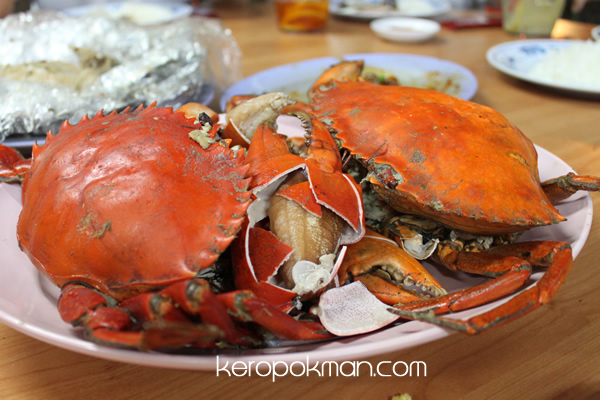 Salted Baked Crabs