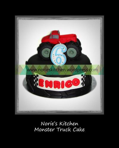 Norie's Kitchen - Monster Truck Cake