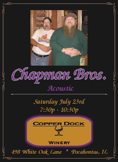 Chap Bros 7-23-11