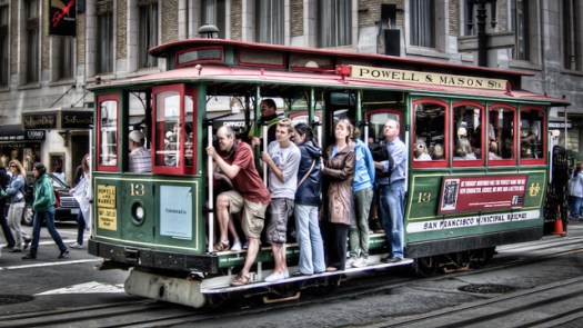 Lucky 13 - San Francisco Cable Car by Scott Loftesness