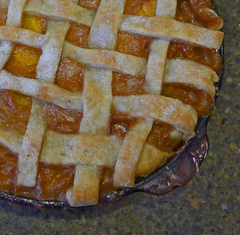 Bourbon Peach Pie 57