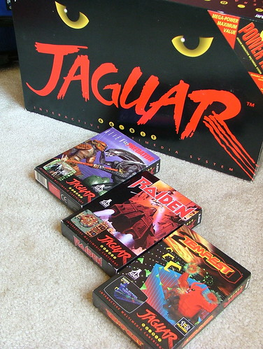 Atari Jaguar and games