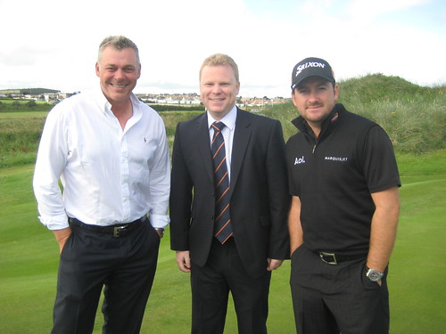 Alastair Ross WIth Local Golf Champions