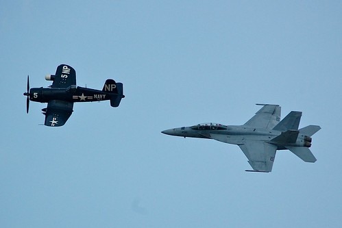 F4U & F-18 Legacy Flight