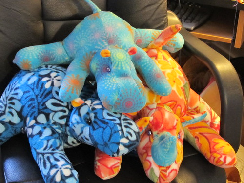a pile of charismatic hoofed megafauna