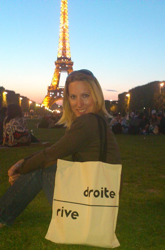 Sous la tour Eiffel, Kasia Dietz bags