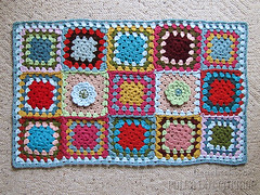 Project :: Granny Square: Mini Blanket