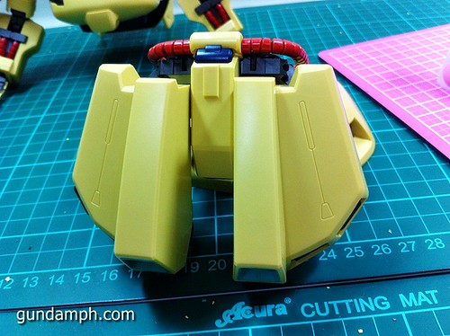 MG The-O PMX-003 Review OOB Build (43)