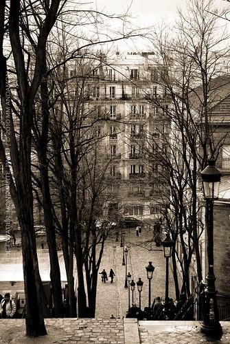 Rue Foyatier, Montmarte