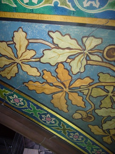 Foliage Detail to William Hole's Mural