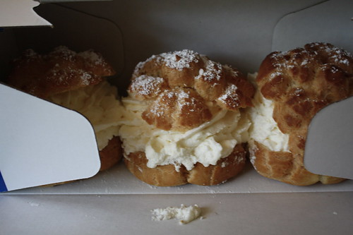cream puffs from WI state fair