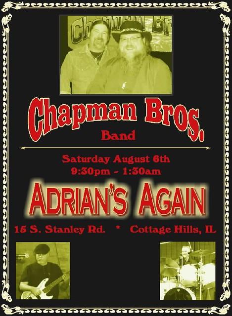 Chap Bros 8-6-11