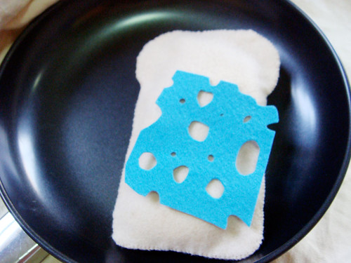 Felt Food - Bleu Cheese