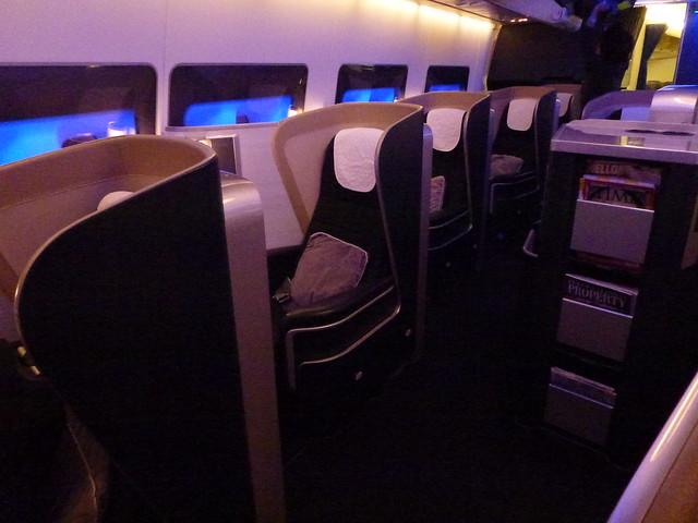 british airways BA first class new seats