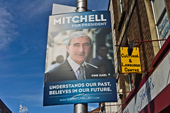The Poster Campaign: Gay Mitchell For President