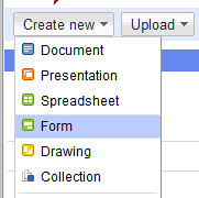 How to Make Forms Using Google Docs