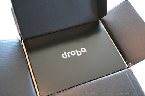 Drobo auspacken 03