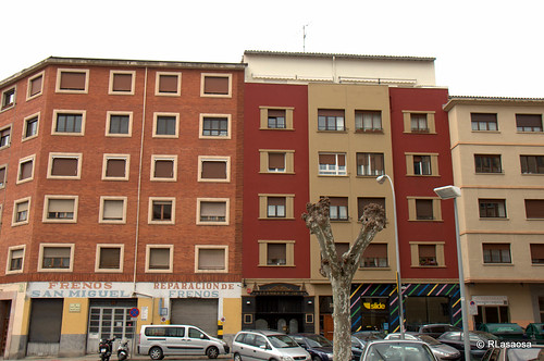 Edificios de viviendas en la calle Tafalla