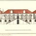 Aspecto da fachada do palácio-residência dos governadores d