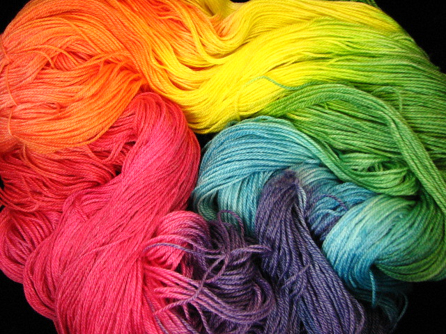 Tropical Rainbow - Panda Sock