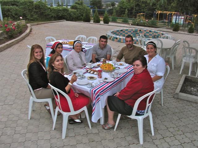 L'école de soeur Arousiak, Tsaghkadzor, Arménie