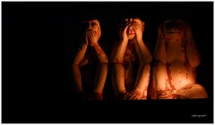 Three wise Monkeys - SPEAK NO EVIL , SEE NO EV...