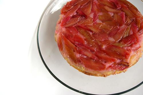 Rhubarb Upside-Down Cake II