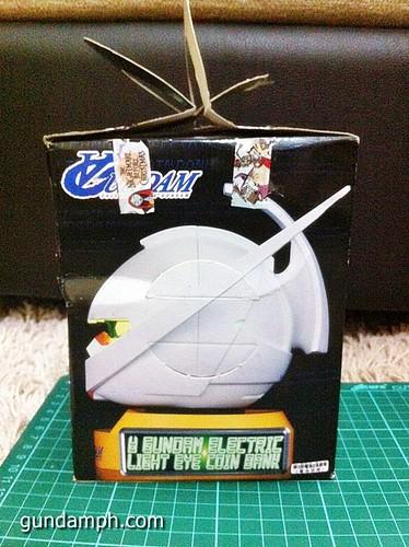 Turn A Gundam Head Display Coin Bank (6)