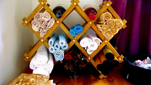 Re-Purposed Wine Rack