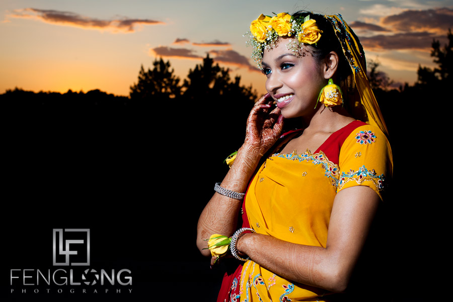 Indian Bridal Portrait | Amir & Nasrine's Wedding Day 2 | Buford Reception at 5th Avenue Event Hall | Atlanta Indian Wedding Photographer