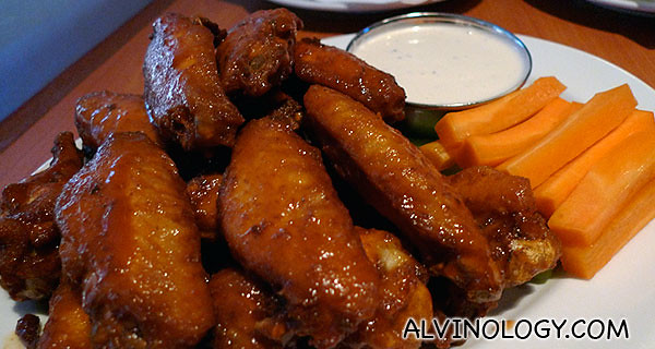 I love these Buffalo wings
