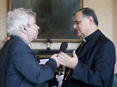 Conference on Christians in The Holy Land, Lam...