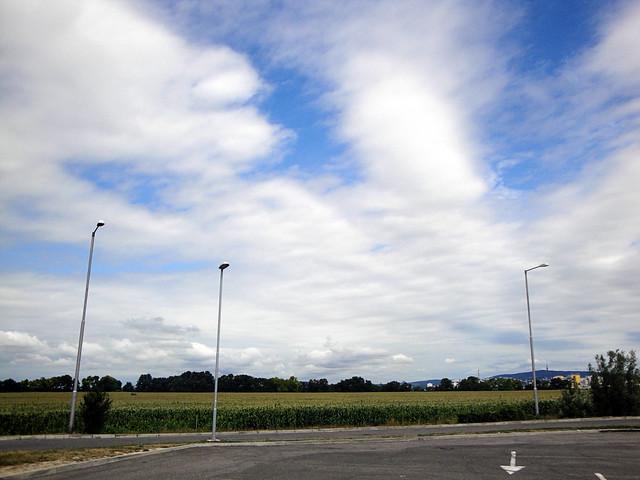 sky over slovakia.