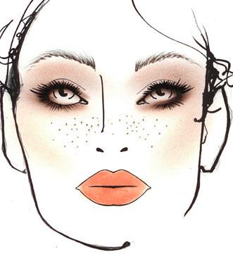 Chloe Makeup Looks Fall 2011
